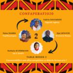 CONFAPERAF2020 : entrepreneuriat dans la restauration africaine ! CR 2/4