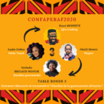 CONFAPERAF2020 : Transmission de la gastronomie africaine. CR 3/4