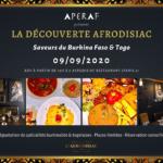 La Découverte Afrodisiac des saveurs du Burkina Faso 🇧🇫 et du Togo 🇹🇬